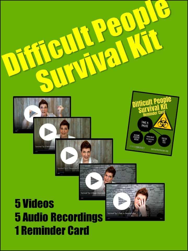 Survival Kit Permission Page Image